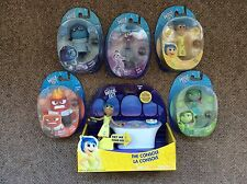Disney Pixar Inside out complete set Of Figures And Light Up Console