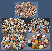 1 KG EDELSTEINE-TROMMELSTEINE---Bunte NATUR-MISCHUNG-I- in 5 Größen erhältlich