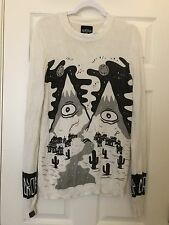 Drop Dead Clothing - RARE- Men's Small Mountains Sweater - Oliver Sykes