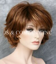 Classy and chic Everyday wig Multiple layers Auburn Blonde Mix lo  33/27