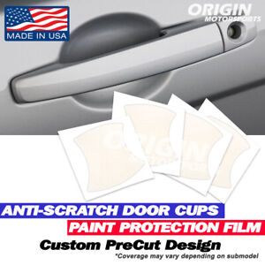 Door Handle Cup Clear Shield Paint Protection Film Kit for Audi S8 2013-2014