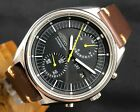 VINTAGE SEIKO JUMBO CHRONOGRAPH  6138-3002 AUTOMATIC STAINLESS STEEL 42MM WATCH