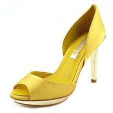Zapatos de tacón de mujer de color principal amarillo Talla 39