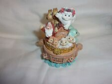 Dreamsicles Christmas Ark #10457 Hinged Trinket Box