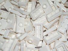 LEGO 20 White Plates Modified 1x2 Stud Jumper 31043