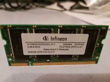 Infineon HYS64D32020GDL-6-C 256 MB DDR SDRAM Laptop memory boost - Photo details