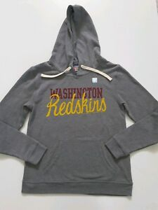 Washington Redskins NFL Junk Food Hoodie Sweatshirt Womens Sizes S or M