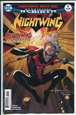 NIGHTWING #17 - REBIRTH - JAVIER FERNANDEZ ART & REGULAR COVER - DC COMICS/2017
