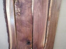 "7/8"" Black Figured Walnut Table Top Bench Resaw Jewelry Box Crafts Plaque Boards"