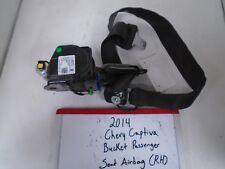 2014 Chevrolet Captiva Bucket Passenger Seat Belt (RIGHT)