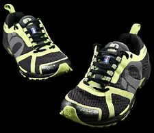 Pearl Izumi Run Like An Animal Peak II Running EM Road Grey Lime Green 9.5 Mens