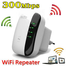 NEU WiFi Range Extender Super Booster 300Mbps Superboost Boost Speed Wireless EU