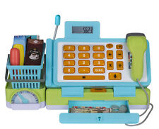 Playkidiz: Interactive Toy Cash Register for Kids with Sound and Play money