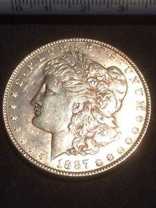 1 DOLLAR U.S.A. 1887 (MORGAN) PLATA