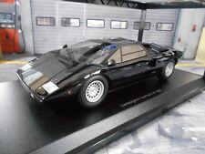 Lamborghini Countach lp400 LP 400 v12 Black Noir 1978 KYOSHO kyo9531bk 1:18