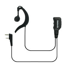 New  PTT Earpiece Headset Adjustable Volume for Kenwood Retevis BAOFENG Radio IT