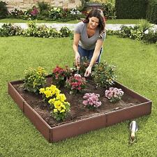 Raised Garden Bed Planter Flower Vegetables Seeds Kit Easy Assembled Set