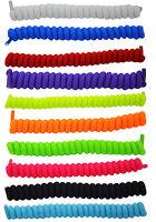 Curly Elastic Shoelaces No Tie Shoe Laces Elasticated Lace