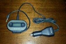 Belkin Tunecast II F8V3080 FM Transmitter with Car Power Cable for Auto or AAA