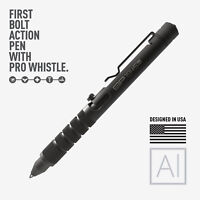 GP 1945 Bolt Action Plus Pen - Machined Aluminum Black by GPCA + Kickstarter