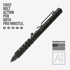 GP 1945 Bolt Action Plus Pen - Machined Aluminum Black Version by GPCA