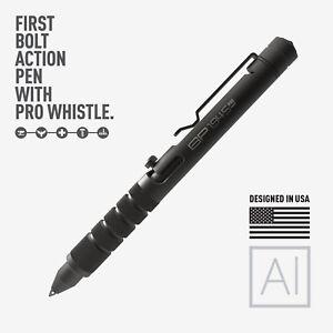 GP 1945 Bolt Action Plus Pen - Machined Aluminum Black by GPCA + Kickstarter