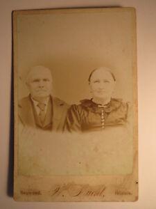 Raymond Illinois USA - älteres Paar - Mann & Frau - Portrait - Zimmermann ?/ KAB