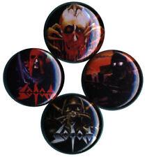 Sodom Set of 4 Buttons-Pins-Badges german thrash death black metal kreator