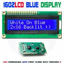 1602 BLUE LCD 16x2 HD44780 Character Display Module For Arduino lcd1602