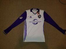 NWT ADIDAS Adizero Orlando City SC MLS Long Sleeve Jersey MSRP $150 Men's Sz S