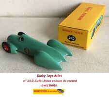 Dinky Toys Atlas n° 23 D Auto Union voiture de record