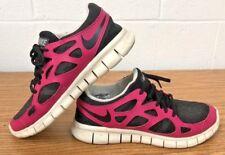 best website 01c85 67515 Nike Free Run 2 EXT Black Pink White Running Women s 536746-016 Size 9