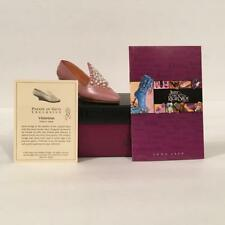 Just The Right Shoe 25056 Victorious POG Mini Resin Breast Cancer Shoe Figurine