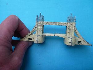 Vintage 1960s TOWER BRIDGE LONDON Die-Cast die cast Metal Model