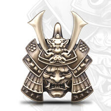 Japan Prajna Samurai Auto Motorrad Emblem Car Bronze 3D Metall Karosserie Tuning