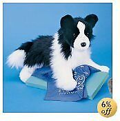 "14"" Chase Border Collie Plush"