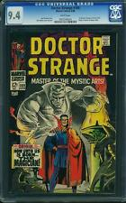 Doctor Strange #169 CGC 9.4 1968 1st Issue! WHITE pages! Origin! E9 954 cm clean