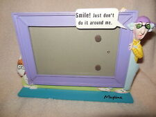 Hallmark Maxine And Floyd Photo Picture Frame Smile Just Don'T Do It Near Me