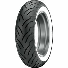 MU85B-16 (77H) Dunlop American Elite Rear Motorcycle Tire Wide White Wall