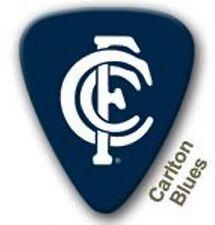 Carlton Blues Guitar Picks 5 Pack Official AFL Product