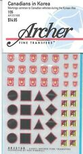 Archer Canadian Korea Vehicle Markings Transfers Decals AR35168