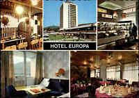 BUDAPEST Ungarn Postkarte Hungary Postcard Hotel Europa Mehrbildkarte color