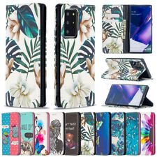 For Samsung S20 FE Note 20 S10 Lite S21+ Leather Magnetic Flip Wallet Case Cover