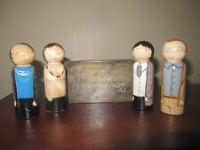 The Doors hand made peg doll set