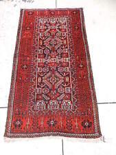 3x6ft. Vintage Balouch Tribal Wool Runner
