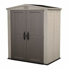 Keter Factor 6' x 3' Resin Outdoor Storage Shed NEW