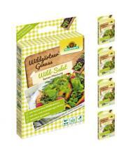 "Neudorff ""WildgärtnerGenuss Wild-Salat"" 5 x Samen-Mischung, Kräuter, B-Ware"