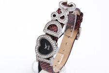 Dolce & Gabbana Watch Donna Brillantini Extra Sconto 50% Viola Cinturino Pelle