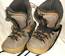 K2 Clicker Boots, step in snowboard boots,  Size 8 Snowboard Boots. Used