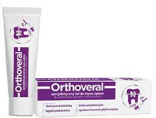 Orthoveral Orthodontic Gel to brush teeth toothpaste Mint 75ml